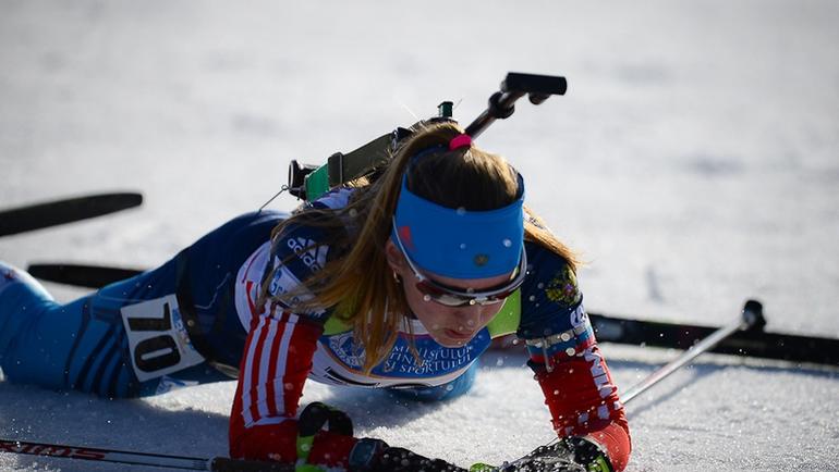 Анастасия РАССКАЗОВА. Фото Союз биатлонистов России