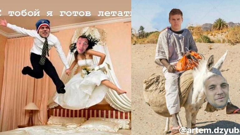 Артем ДЗЮБА и Александр КОКОРИН. Фото instagram.com