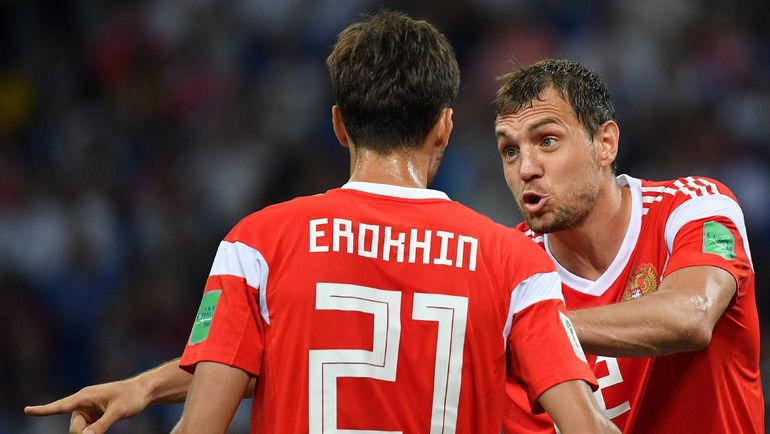 """Артем ДЗЮБА (справа). Фото Александр ФЕДОРОВ, """"СЭ"""""""