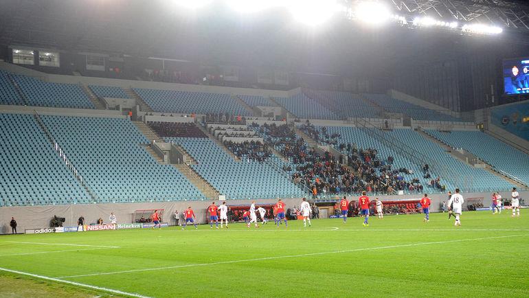 Осенью 2014 года ЦСКА провел три матча Лиги чемпионов без зрителей. Фото Алексей ИВАНОВ
