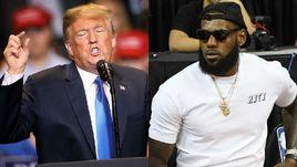 Тупейший человек. Трамп скандалит с великим баскетболистом