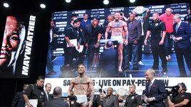 Конор МАКГРЕГОР провел на T-Mobile Arena в Лас-Вегасе знаменитый бой по правилам бокса против Флойда Мейвезера.