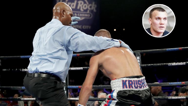 4 августа. Алтантик-Сити. Рефери остановил бой после того, как Сергей КОВАЛЕВ трижды побывал в нокдауне в седьмом раунде.
