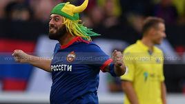 Бразилец-матерщинник нанес первый удар в матче ЦСКА -