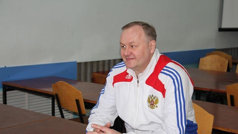 Валерий МАСАЛИТИН. Фото ffk.bsu.edu.ru