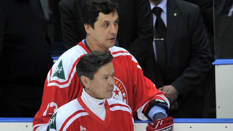 Вячеслав БЫКОВ и Валерий КАМЕНСКИЙ. Фото Алексей ИВАНОВ