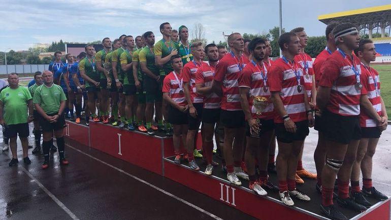 В мужском турнире победу одержала сборная Краснодарского края под руководством Антона Левченко. Фото rugby.ru