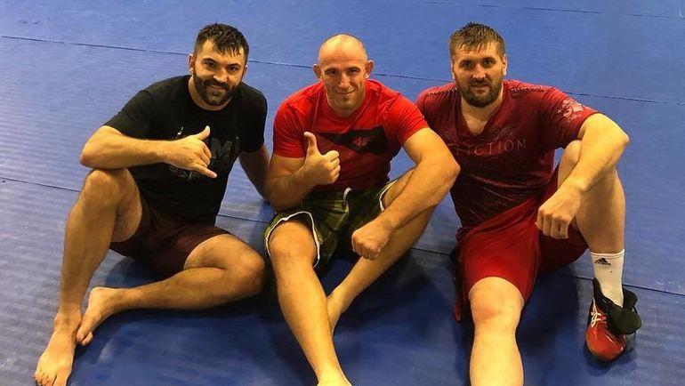 Андрей ОРЛОВСКИЙ, Алексей ОЛЕЙНИК и Виталий МИНАКОВ. Фото instagram.com