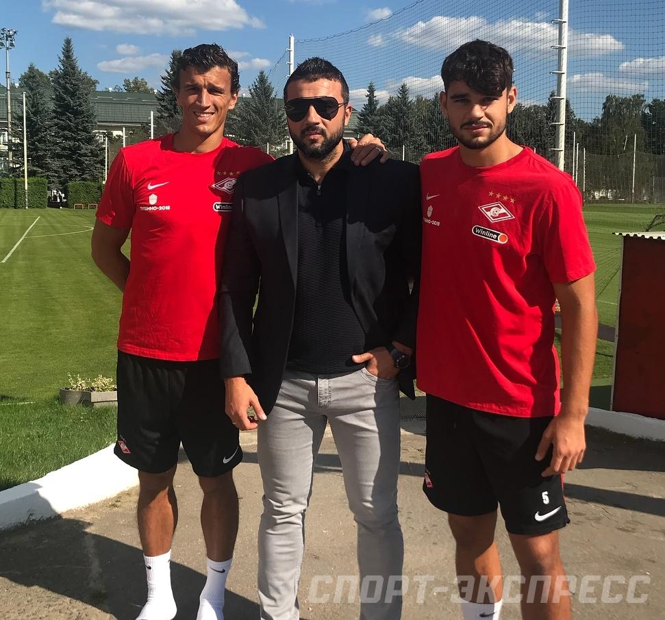 Роман, Алексей и Сергей Еременко