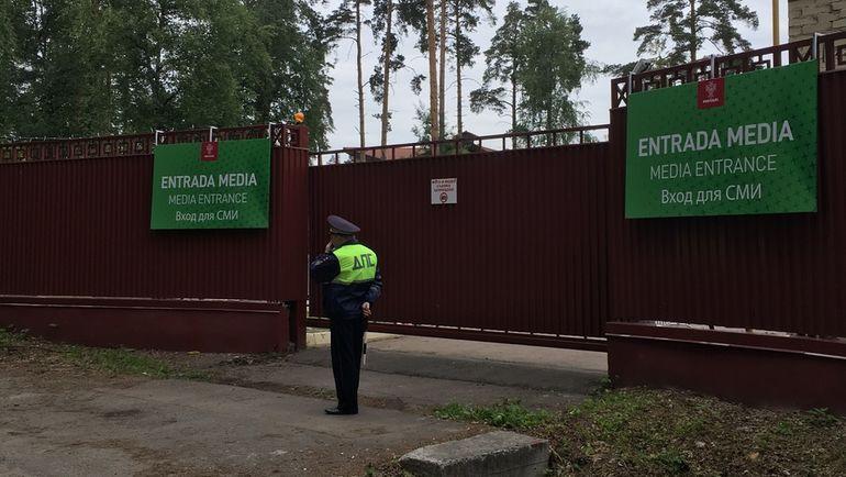 "Кратово: посторонним въезд запрещен. Фото Александр ЧУРИЛИН, ""СЭ"""