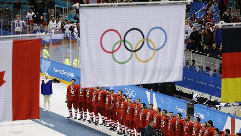 Сборная России - чемпион Олимпиады-2018. Фото REUTERS