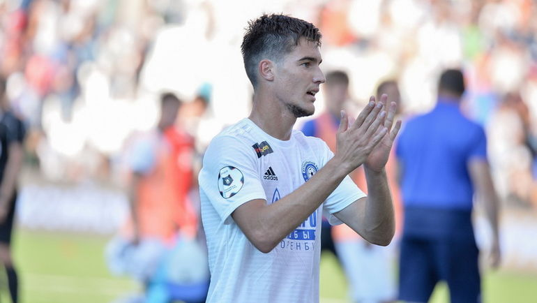 """""""In the"""" Loco """"said that I play well, but then did not offer."""" Forward """"Orenburg"""", who beat Semin"""
