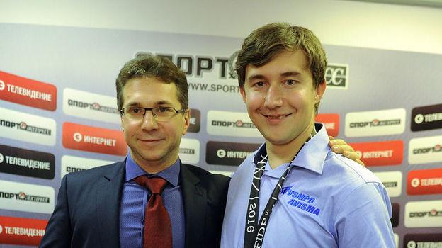Кирилл ЗАНГАЛИС и Сергей КАРЯКИН. Фото Алексей ИВАНОВ