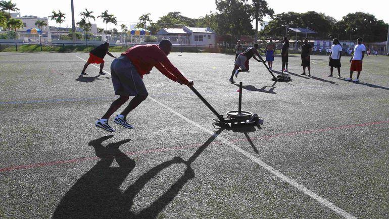 Тренировки на свежем отпуске приносят много пользы организму. Фото REUTERS
