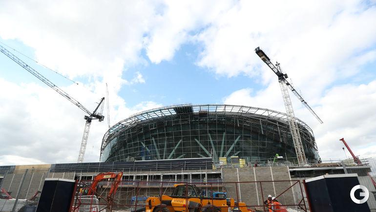 """Сегодня. Лондон. Новая арена """"Тоттенхэма""""."""