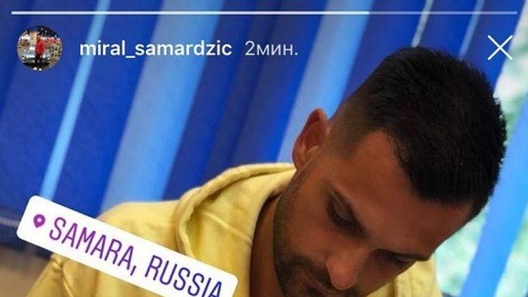 Инстаграм Мирала САМАРДЖИЧА.