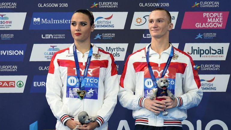 Александр МАЛЬЦЕВ (справа) и Майя ГУРБАНБЕРДИЕВА. Фото AFP