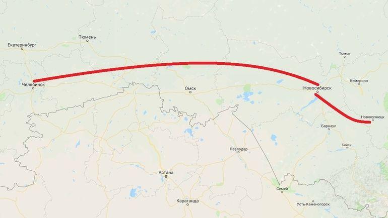 Путь Кубка Стэнли от Челябинска до Новокузнецка. Через Новосибирск.