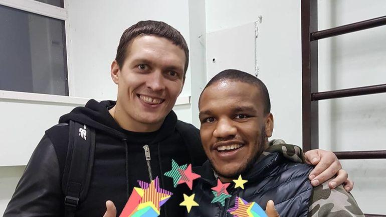 Жан БЕЛЕНЮК (справа) и Александр УСИК. Фото instagram.com/zhanbeleniuk