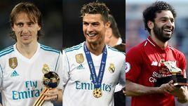 Игрок года по версии УЕФА: Модрич, Роналду или Салах?