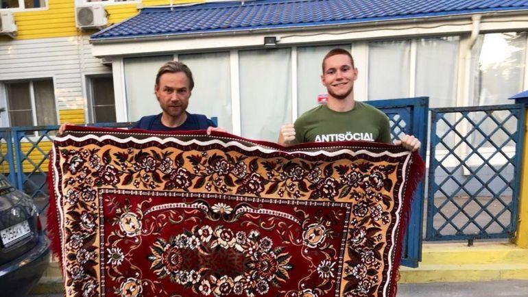 Валерий КАРПИН (слева). Фото Страница Вконтакте Алексея КУМОВСКОГО.