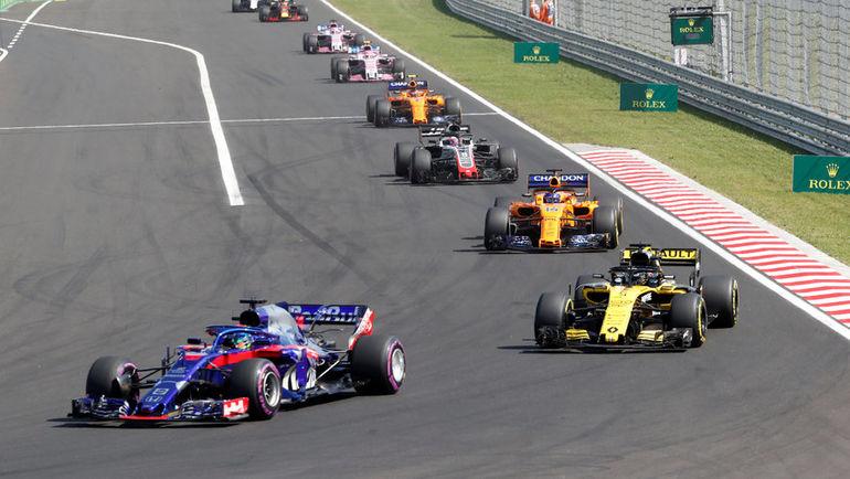 29 июля. Гран-при Венгрии. Хунгароринг. Фото REUTERS