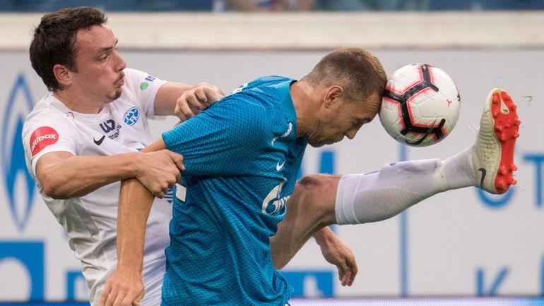 """Седьмой гол Дзюбы, пятая победа """"Зенита"""". """"Уфа"""" проиграла Семаку"""
