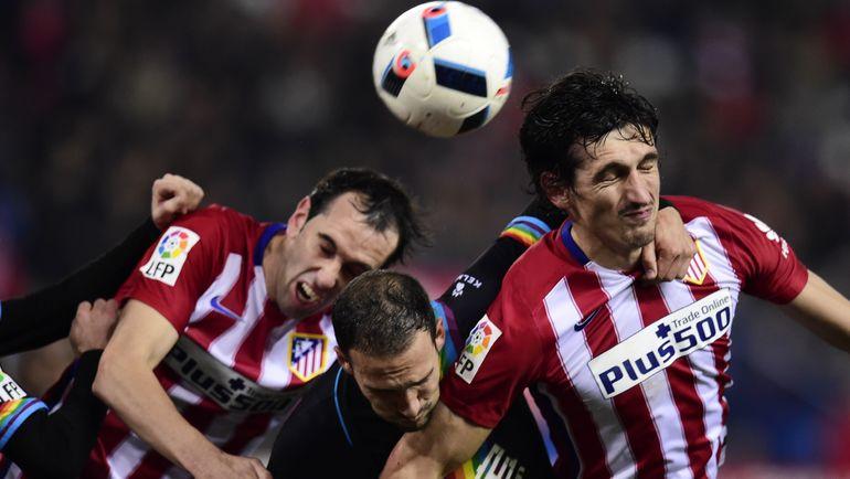 """""""Атлетико"""" – """"Райо Вальекано"""". Фото AFP"""