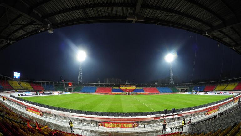 """Стадион """"Арсенал"""" в Туле. Фото Александр ФЕДОРОВ, """"СЭ"""""""