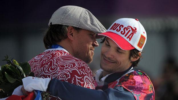 Денис ТИХОМИРОВ (слева) и Вик ВАЙЛД. Фото Федор УСПЕНСКИЙ, «СЭ»