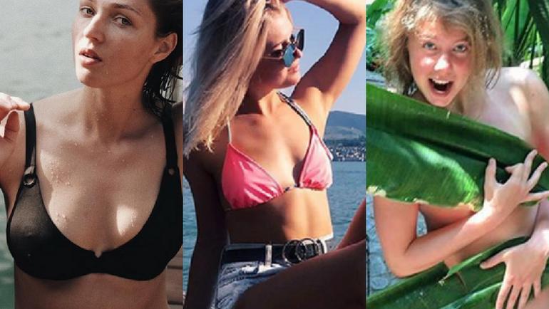 Алена ЗАВАРЗИНА, Софья ФЕДОРОВА, Милена БЫКОВА. Фото instagram