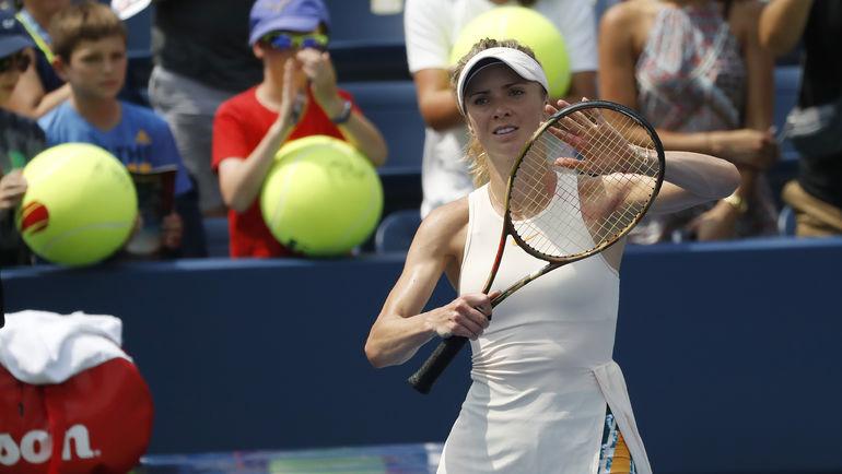 Элина СВИТОЛИНА на US Open. Фото USA TODAY Sports
