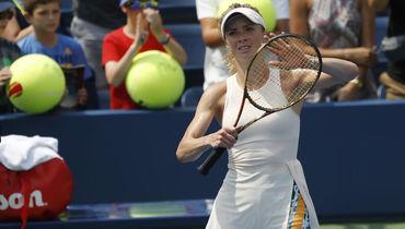 Украинская теннисистка отказалась говорить для русского канала. А ведь раньше она делала это