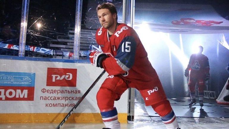 "Давид ДЕАРНЕ. Фото ХК ""Локомотив"""