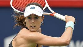 Теннисистка переоделась на корте. Ее за это наказали