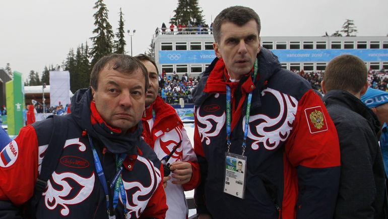 Сергей КУЩЕНКО и Михаил ПРОХОРОВ. Фото Александр ВИЛЬФ