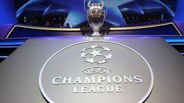 Онлайн жеребьевки группового турнира Лиги чемпионов.