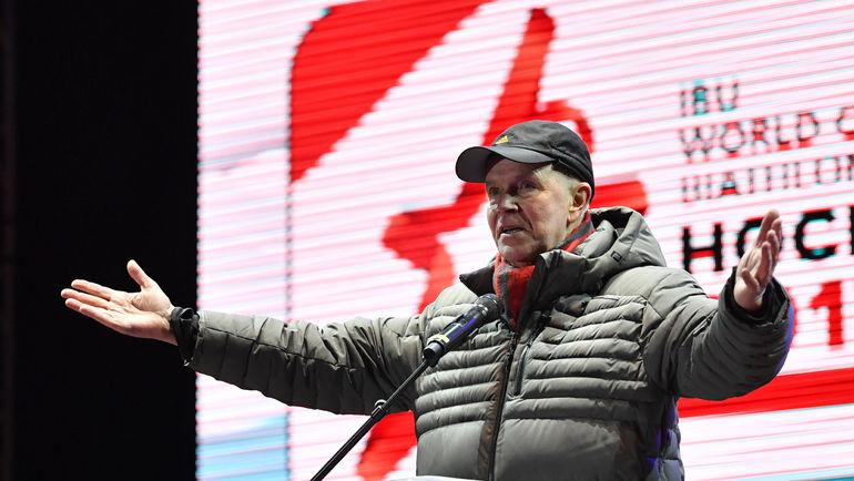 Андреас БЕССЕБЕРГ руководил IBU с момента основания. Фото AFP