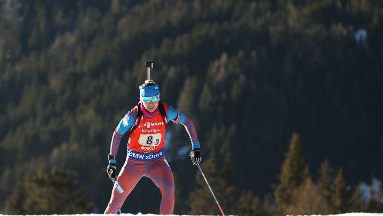 Екатерина ГЛАЗЫРИНА была уличена в употреблении допинга и отбывает дисквалификацию. Фото Союз биатлонистов России