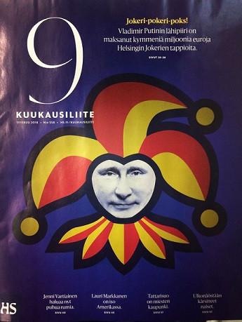 Владимир ПУТИН. Фото Iltalehti.fi.