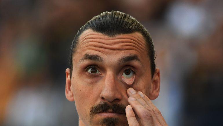 """Златан ИБРАГИМОВИЧ не верит собственным глазам - """"Лос-Анджелес Гэлакси"""" проиграл """"Реалу Солт-Лейк"""" со счетом 2:6. Фото AFP"""