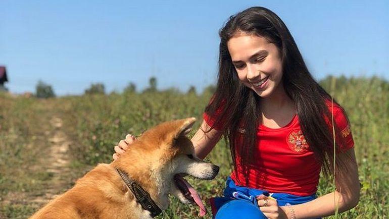 Алина ЗАГИТОВА и Масару. Фото instagram.com/azagitova/