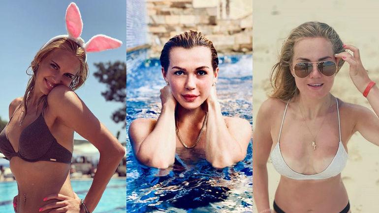 Елизавета КОНДАКОВА, Анна ПРУГОВА и Ангелина ГОНЧАРЕНКО. Фото instagram.com