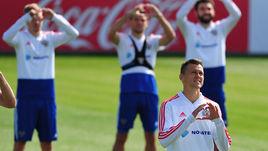 Всемирный день сердца на тренировке сборной России
