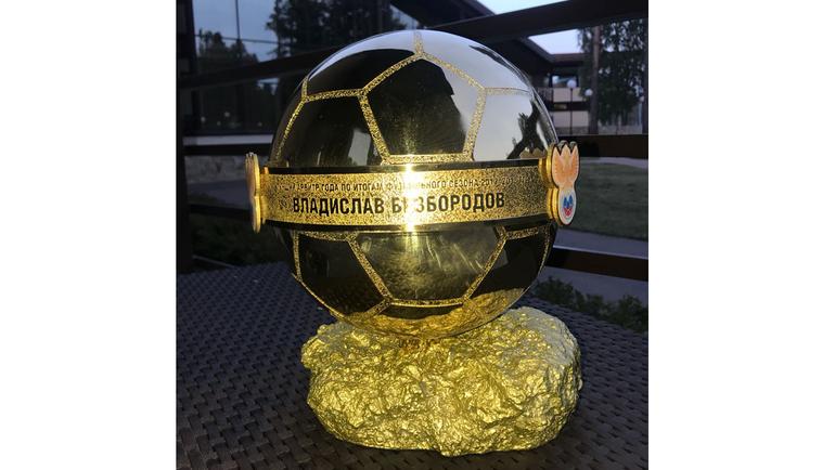 Приз лучшему арбитру России сезона-2017/18.