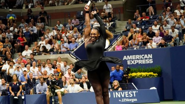US Open-2018, 4 сентября 2018, обзор матча дня, победа Серены Уильямс, победа Рафаэля Надаля