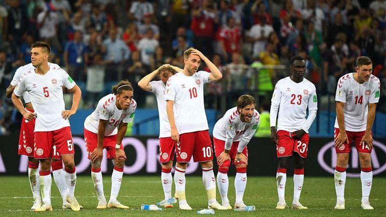 Игроки сборной Дании устроили бойкот. Фото REUTERS