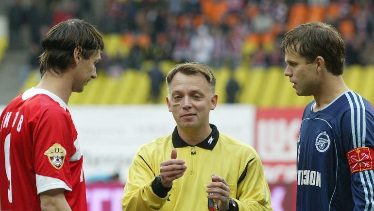 Владимир Петтай (в центре), Егор Титов (слева) и Владислав Радимов. Фото Никита Успенский