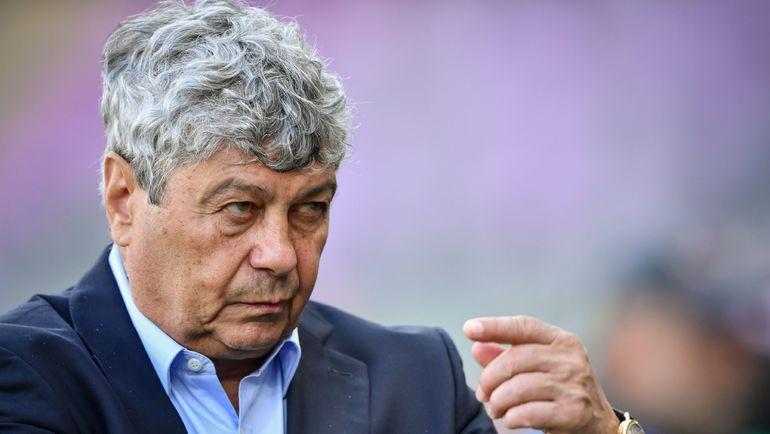 Главный тренер сборной Турции Мирча Луческу. Фото AFP