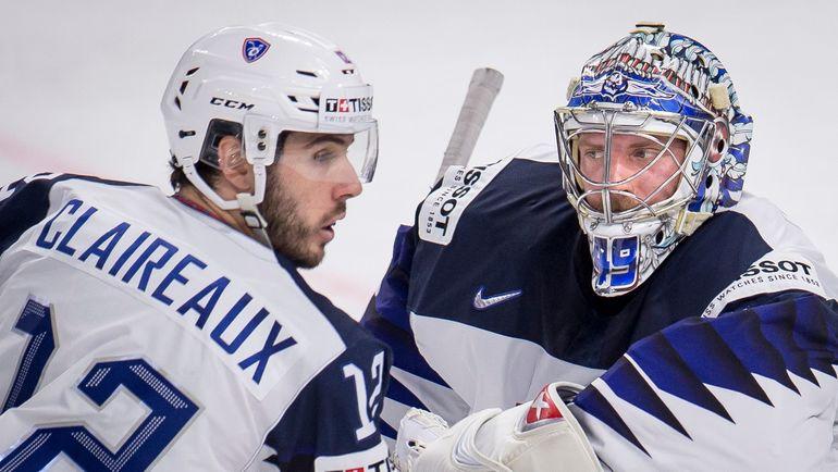 Французских фамилий в списке игроков КХЛ в скором времени может стать значительно больше. Фото AFP